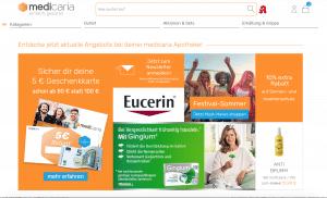 medicaria Gutscheine finden