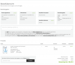 apotheker.com Gutscheincode