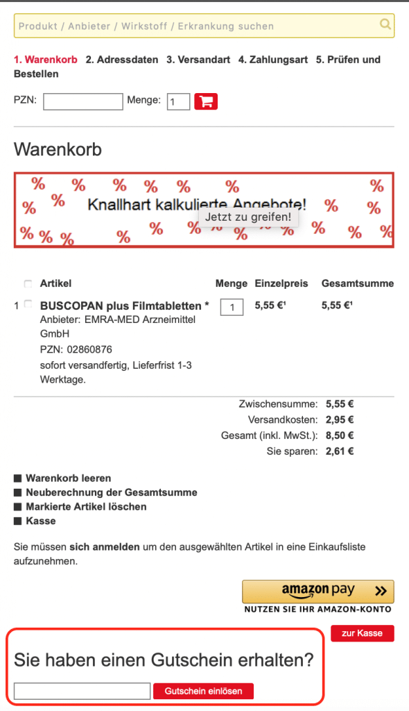biber-express Rabattcodes