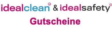 idealclean Gutscheine idealsafety Gutscheine