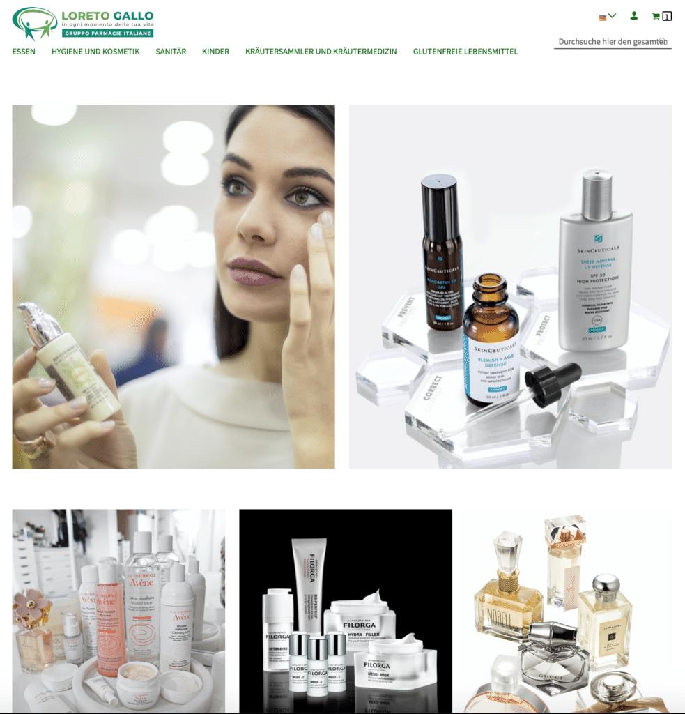 loretogallo.com/de Shop