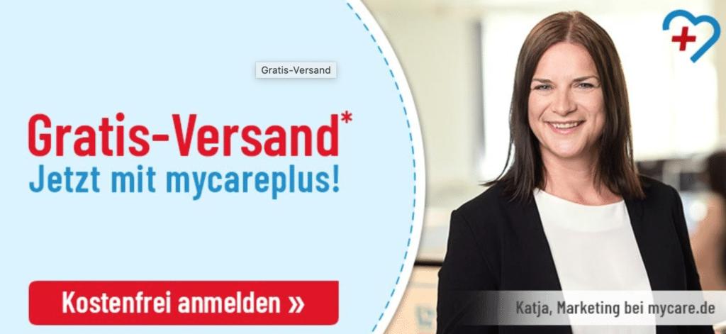 Mycare gratis Versand Gutschein und BonusProgramm